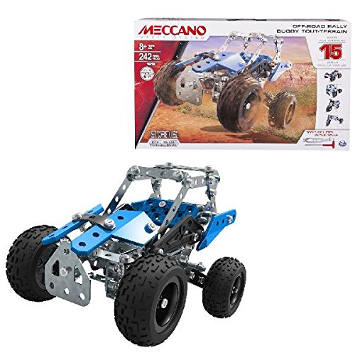 Permalink to New launch Erector by Meccano, Off-Highway Rally, 15 Car Mannequin Constructing Set, 242 Items, For Ages eight and up, STEM Development Schooling Toy  Critiques