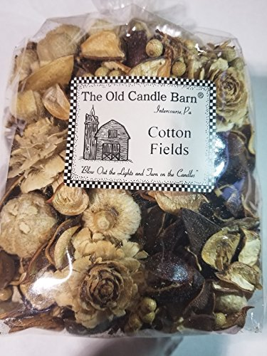Old Candle Barn Cotton Fields Potpourri Large Bag - Perfect Country House Decoration or Bowl Filler - Beautiful Clean Crisp Scent by Old Candle Barn