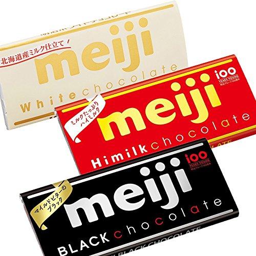 Meiji White chocolate bar Hokkaido Milk Japan Snack Dagashi
