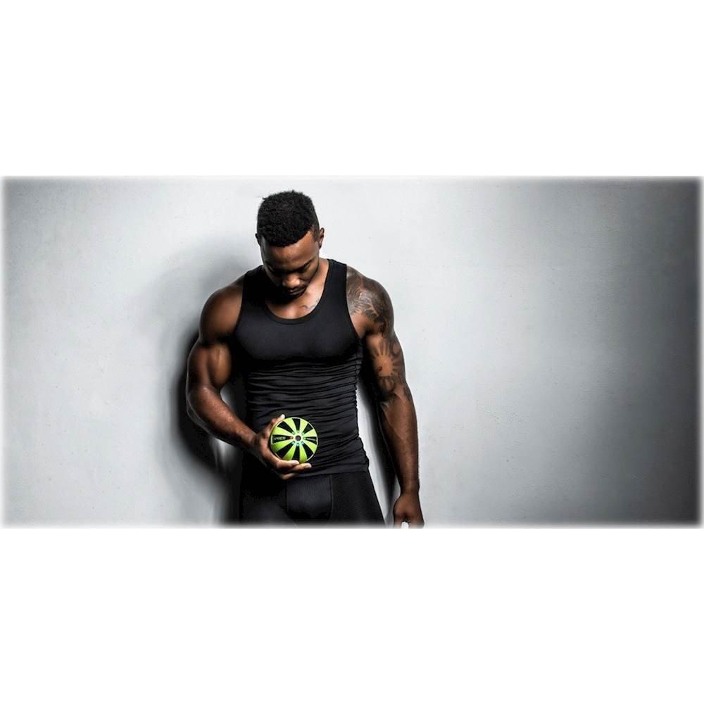 BLACK Limited Color HyperIce HYPERSPHERE Vibrating Fitness Ball 3 SPEEDS Vibration Technology
