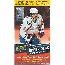2015 2016 Upper Deck NHL Hockey Series Two Unopened Box of 12 Packs