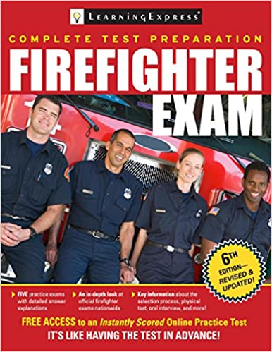 Firefighter Exam Learningexpress 9781611030419 Amazon Books