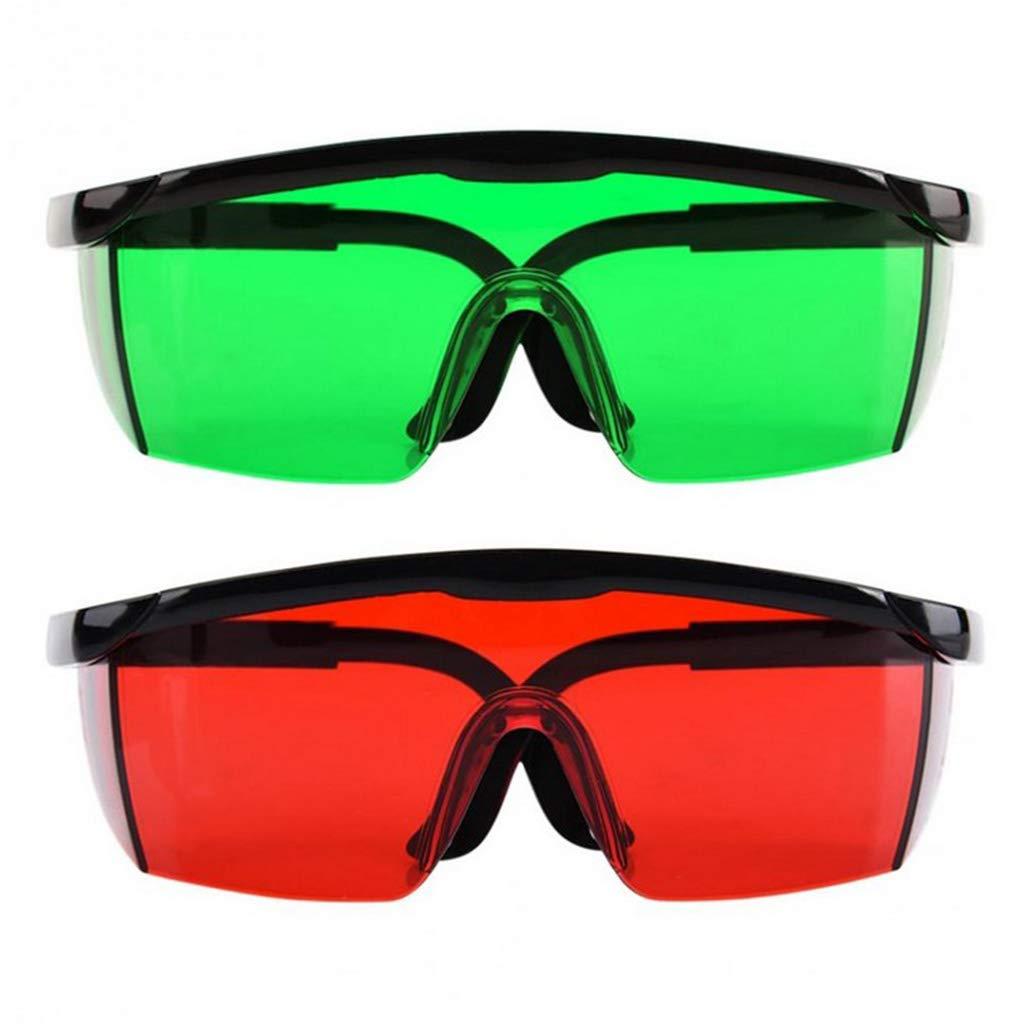 Verde Gafas de Seguridad para Protecci/ón de Ojo
