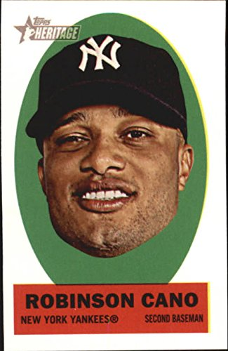 2012 Topps Heritage Stick-Ons #13 Robinson Cano - NM