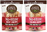 Earth Animal No-Hide Beef Chews 4″ 2pk and No-Hide Salmon Chews 4″ 2pk Review
