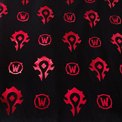 World-of-Warcraft-Wow-Horde-Foil-Video-Game-Stretchy-Womens-Juniors-Leggings