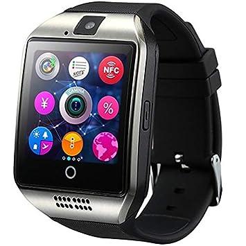 f7223a9e337 Smartwatch Q18 Relógio Inteligente Bluetooth Gear Chip Android iOS Touch  Faz e atende ligações SMS Pedômetro