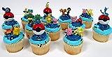 POKEMON 24 Piece MINI Birthday Party Cupcake Topper Set