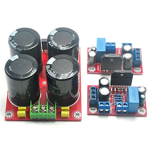 Hifi Lm3886 68w+68w Stereo Amplifier Board by Electronics BoardJINGLUYAO
