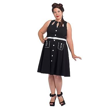 Amazon.com: Voodoo Vixen Gretta Pétalo Plus tamaño vestido ...