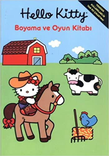 Hello Kitty Boyama Ve Oyun Kitabi Kolektif 9786050901924 Amazon