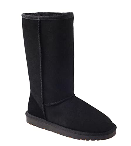 8885eb7a7f9 OZwear UGG Long High Snow Warm Boots: Amazon.co.uk: Shoes & Bags