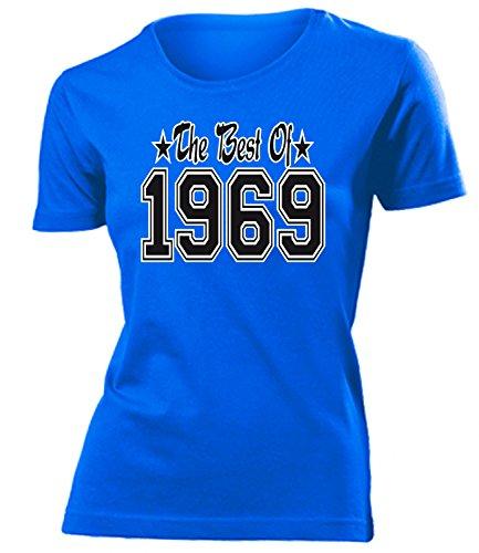 THE BEST OF 1969 - DELUXE - Birthday mujer camiseta Tamaño S to XXL varios colores Azul
