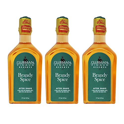 Clubman Reserve Brandy Spice After Shave Lotion 6 oz (Pack Of 3)