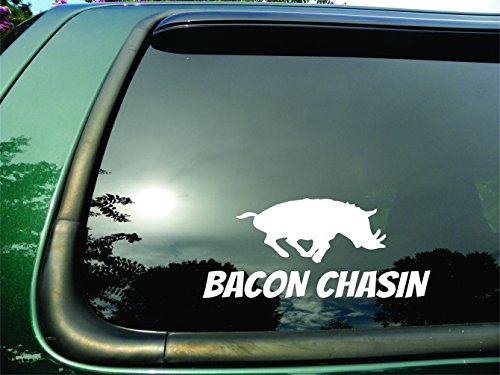 hog hunting window decals - 3
