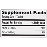 Caltrate 600+D3 (60 Count) Calcium and Vitamin D