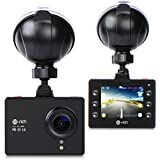 Dash Cam, Te-Rich Front Dash Camera for Cars Full HD 1080P Wide Angle Vehicle Dashboard Camera Video Recorder with Night Vision, Parking Mode, Looping Recording, G Sensor