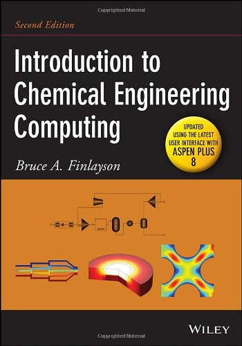 Intro.To Chemical Engineering Computing