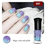JIEPING 1 Bottle 6ml Color Changing Nail Polish Good For Women All Occasions 007