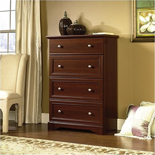 BOWERY HILL 4 Drawer Chest in Select Cherry