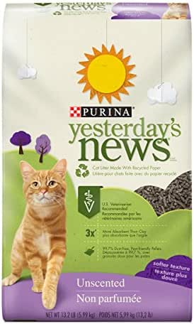 Cat Litter: Purina Yesterday's News