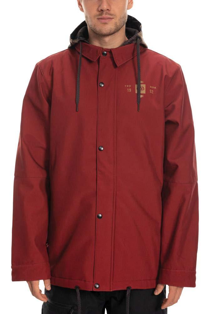 686 メンズ 防水コーチ断熱ジャケット - 防水スキー/スノーボードウィンターコート Rusty 赤 Medium