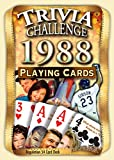 1988 Trivia Playing Cards: 30th Birthday or Anniversary Gift