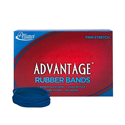 Alliance Rubber 54335 Advantage Rubber Bands Size #32, 1 lb Box Contains Approx. 700 Bands (3