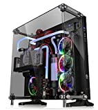 Thermaltake Core P5 Tempered Glass Black Edition ATX Open Frame Panoramic Viewing Tt LCS Certified Gaming Computer Case CA-1E7-00M1WN-03