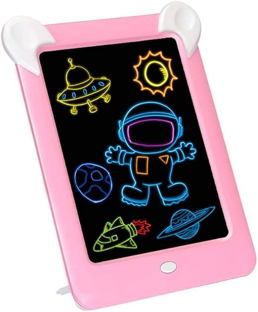TENLSO 3D - Tableta de Escritura LCD con luz, Pizarra mágica para ...