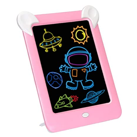 8.5Inch Gifts Multicolor Learning with Stylus Erase Doodle Sketch Digital Notepad Color : A Portable Drawing Board Graffiti Board Kids LCD Writing Tablet