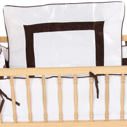 Sweet Classic Cradle Bedding - Color: White Size: 18 x 36
