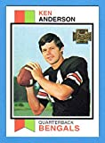 Ken Anderson 1973 Topps Football Rookie Reprint Card (Bengals)