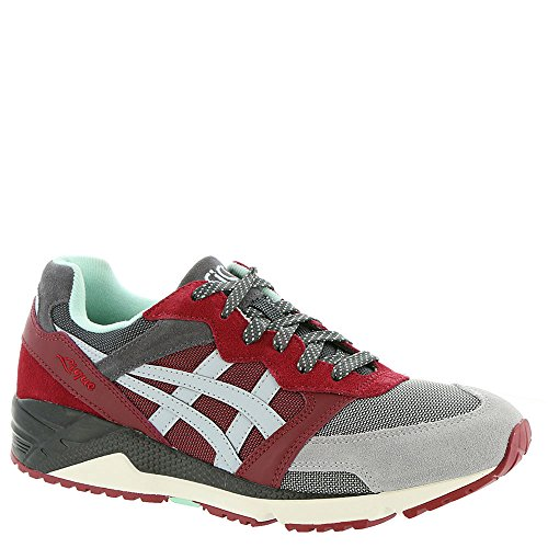 US Mid Mens D M Ot Lique Gel Shoes 10 Asics Tiger Red Grey 8Hnq6q