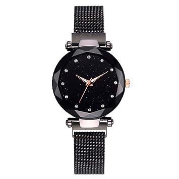 Amazon.com : WUAI Womens Luxury Watch, Fashion Stainless ...
