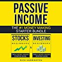 Passive Income: Two-Book Money Making Starter Bundle: Investing for Beginners & Stocks for Beginners Audiobook by Rich Harrington Narrated by Kevin Kollins