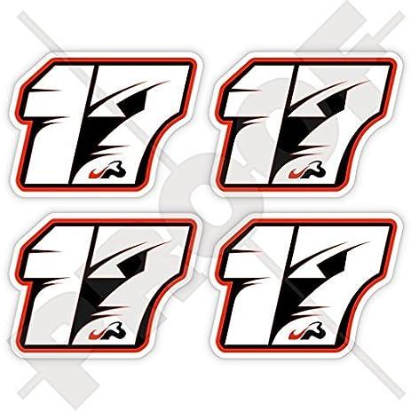 Jules bianchi 17 black formula 1 f1 racing driver 50mm 2 vinyl bumper