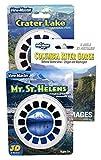 Crater Lake - Columbia River - Mt.St Helens - Triple Vintage ViewMaster Set - 9 Reels