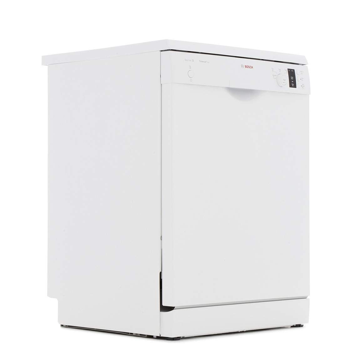 Bosch Serie 2 SMS25AW00GActiveWater 60 Centimeter Freestanding Dishwasher with 12 Place Settings, A Plus Plus Energy Rating, Delay Timer and Load Sensor (White) [Energy Class A++]