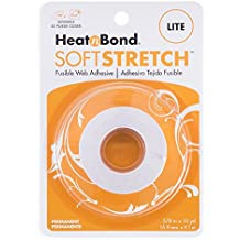 "Therm O Web 3536 Heat and Bond LITE Soft Stretch Fabric Adhesive, 5/8"" x 10 yd"