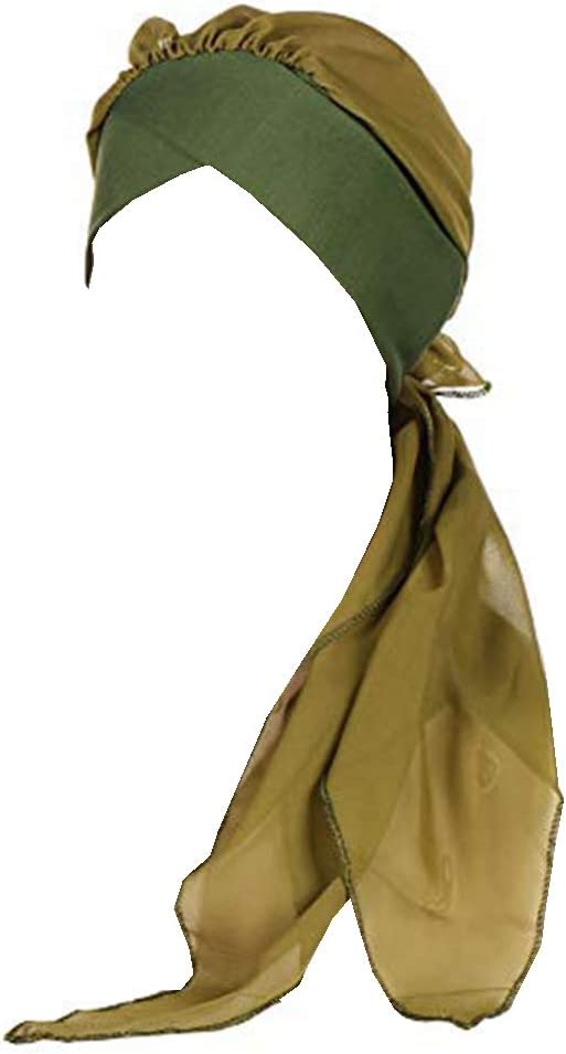 Amorar Chemo Turban Hijab Femmes Cancer Bonnets /Écharpes en Mousseline De Soie Bandana Queue Chapeau T/ête Wrap Bandeaux Foulard pour Patients Canc/éreux Chimioth/érapie Perte De Cheveux Musulman