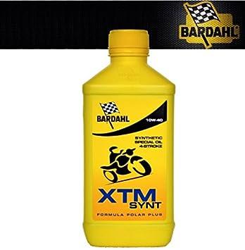 Aceite Motor Bardahl XTM SAE 10-w40 10 W 40 10 W 40 5 Lt kg: Amazon.es: Coche y moto
