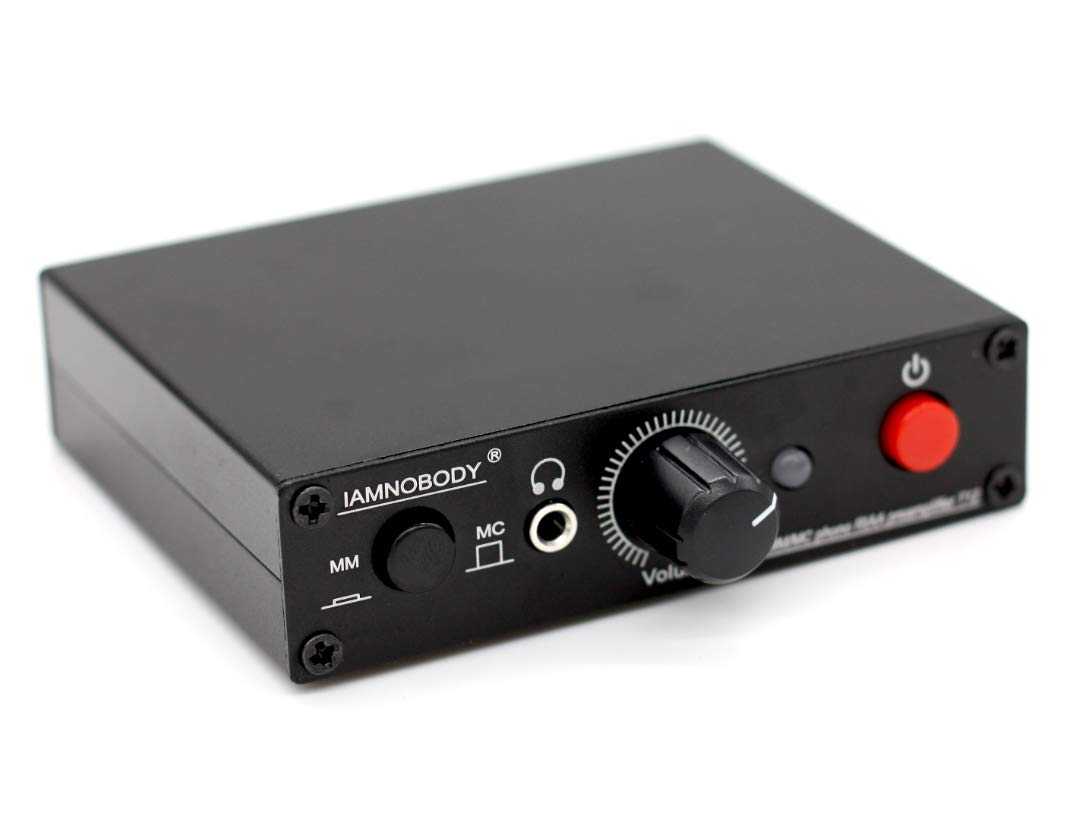 T12 MM MC cart Turntable Phono RIAA Preamp preamplifier + Headphone amplifier by ONE Little-bear