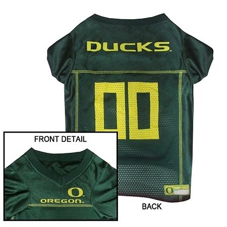 UPC 023508068112, Mirage Pet Products Oregon Ducks Jersey for Dogs and Cats, X-Small