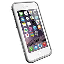 """LifeProof FRE iPhone 6 ONLY Waterproof Case (4.7"""" Version) - Retail Packaging -  AVALANCHE (BRIGHT WHITE/COOL GREY)"""