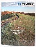Polaris 2016 RZR 1000 XP XP4 Turbo Service Shop Manual 9926945 New OEM