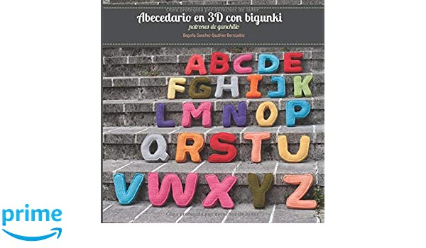 Abecedario en 3D con bigunki. Patrones de ganchillo (Spanish ...