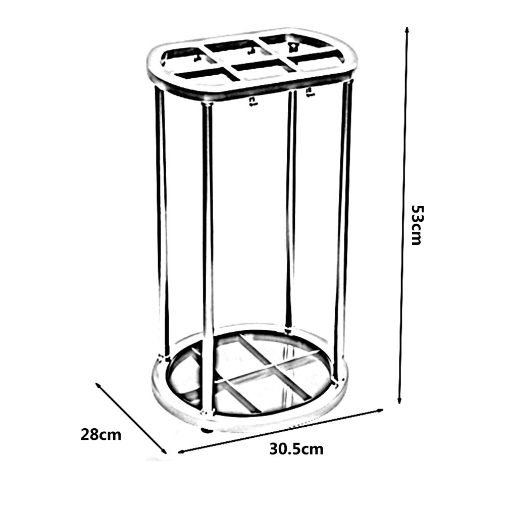 Amazon.com: DUXX - Paragüero de almacenamiento, 6 agujeros ...