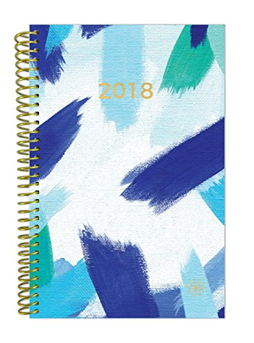 Calendar Diary (bloom daily planners 2018 Calendar Year Daily Planner - Passion/Goal Organizer - Monthly and Weekly Datebook Agenda Diary - January 2018 - December 2018 - 6
