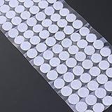 BESTOMZ 200pcs 15mm Self Adhesive Dots Sticky Back